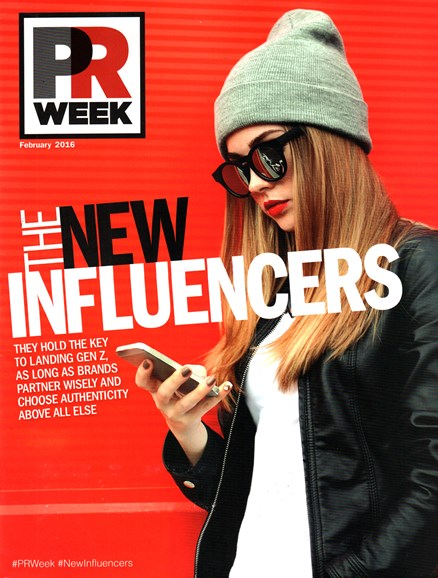 PRWeek Cover - 2/1/2016