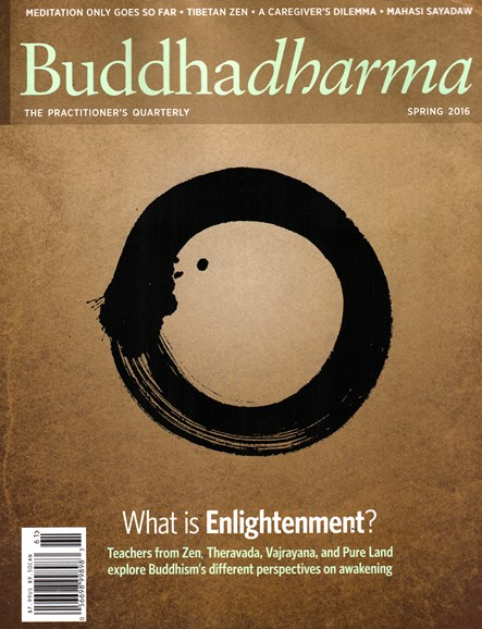 BUDDHADHARMA: THE PRACTIONER'S QUARTERLY Cover - 3/1/2016