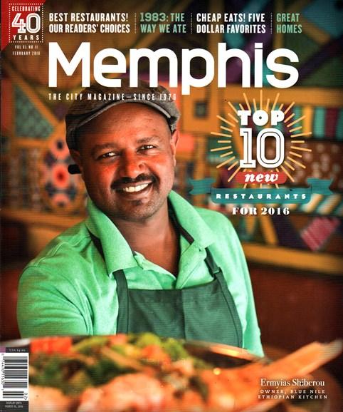 Memphis Cover - 2/1/2016