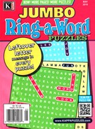 Jumbo Ring a Word Magazine 5/1/2016