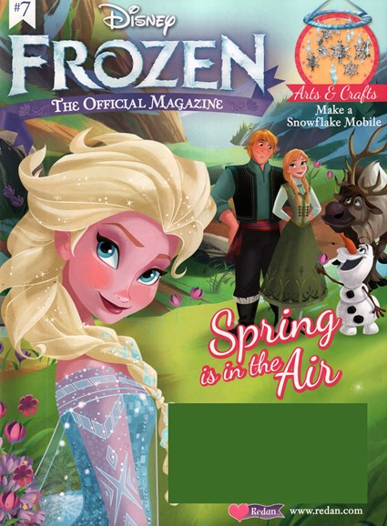 Disney Frozen Cover - 3/1/2016