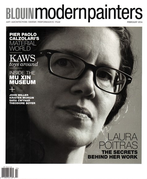 Blouin Modern Painters Cover - 2/1/2016