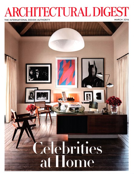 Architectural Digest Cover - 3/1/2016