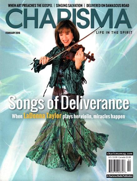 Charisma Cover - 2/1/2016