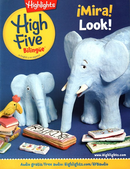 Highlights High Five Bilingue Cover - 3/1/2016