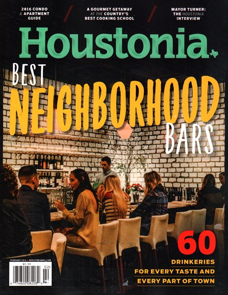 Houstonia Cover - 2/1/2016