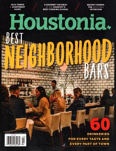 Houstonia Cover - 2/1/2016