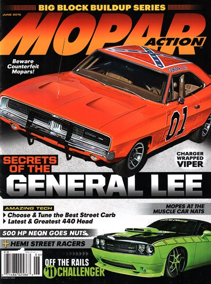 Mopar Action Cover - 6/1/2016