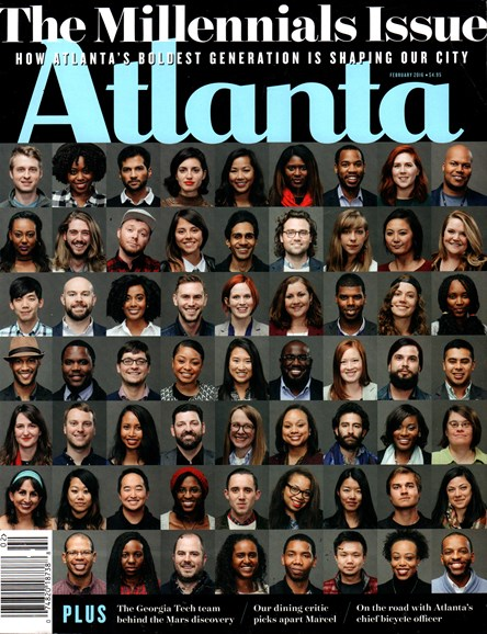 Atlanta Magazine Cover - 2/1/2016
