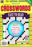 The National Observer Book of Crosswords Magazine 3/1/2016