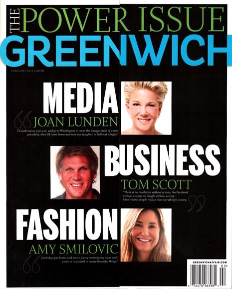 Greenwich Cover - 2/1/2016