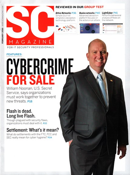 SC Magazine - U.S. edition Cover - 2/1/2016
