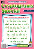 Cryptograms Special Magazine 4/1/2016