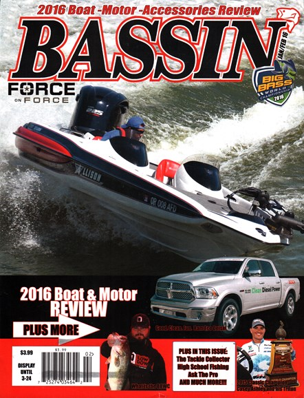 Bassin' Cover - 1/1/2016