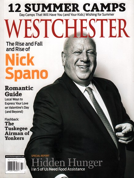 Westchester Magazine Cover - 2/1/2016
