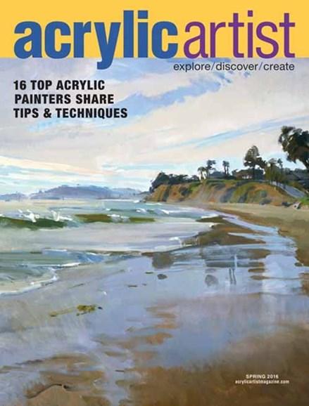 Acrylic Artist Cover - 3/1/2016