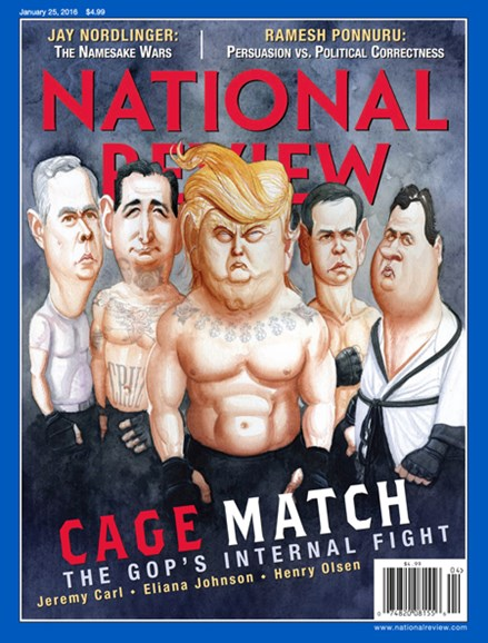 National Review Cover - 1/25/2016