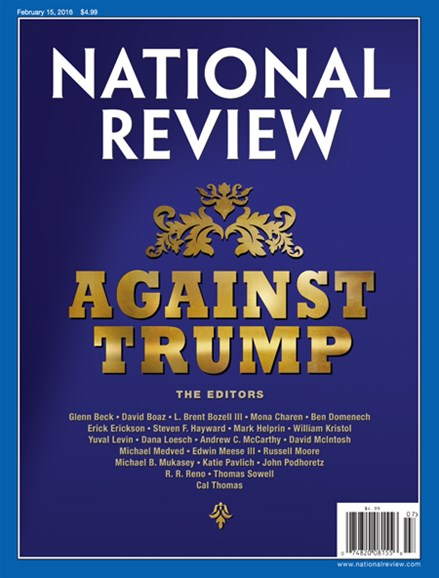 National Review Cover - 2/15/2016