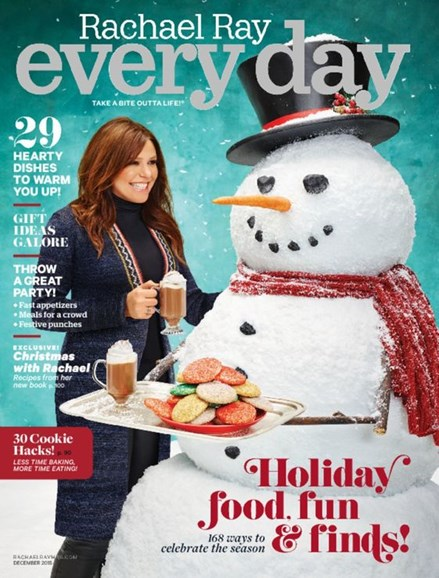 Rachael Ray Every Day Cover - 12/1/2015