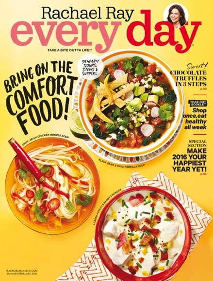 Rachael Ray Every Day Cover - 1/1/2016