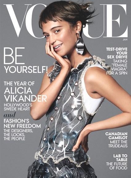 Vogue Cover - 1/1/2016