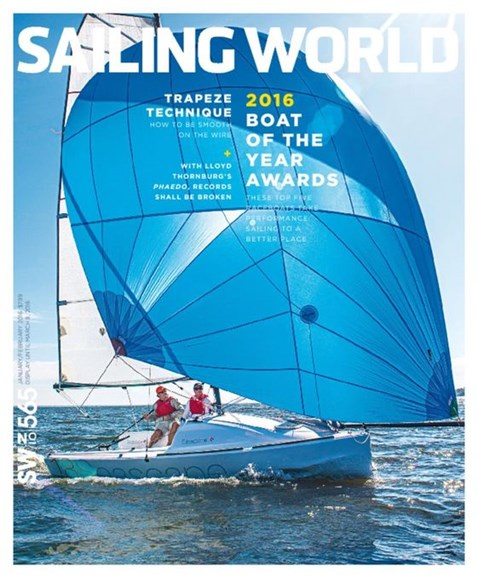 Sailing World Cover - 1/1/2016