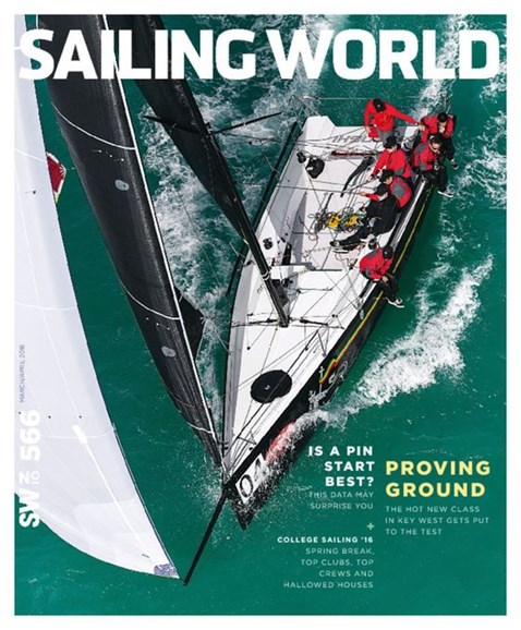 Sailing World Cover - 3/1/2016