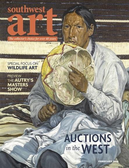 Southwest Art Cover - 2/1/2016