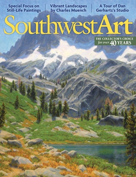 Southwest Art Cover - 4/1/2013