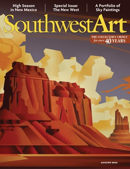Southwest Art Cover - 8/1/2013