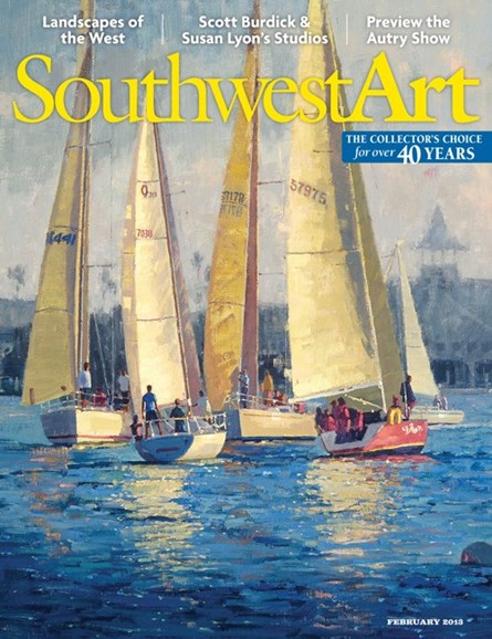 Southwest Art Cover - 2/1/2013