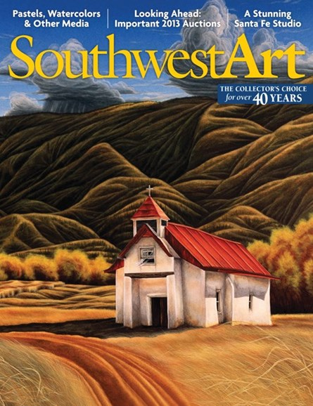 Southwest Art Cover - 1/1/2013