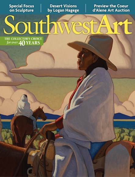Southwest Art Cover - 7/1/2013
