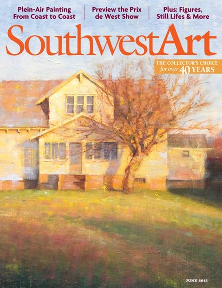 Southwest Art Cover - 6/1/2013