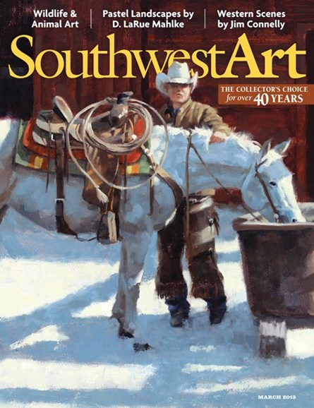Southwest Art Cover - 3/1/2013