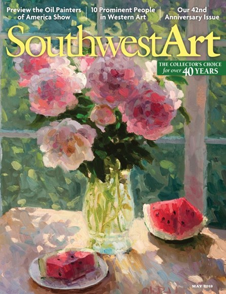 Southwest Art Cover - 5/1/2013