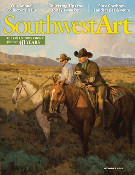 Southwest Art Cover - 10/1/2013