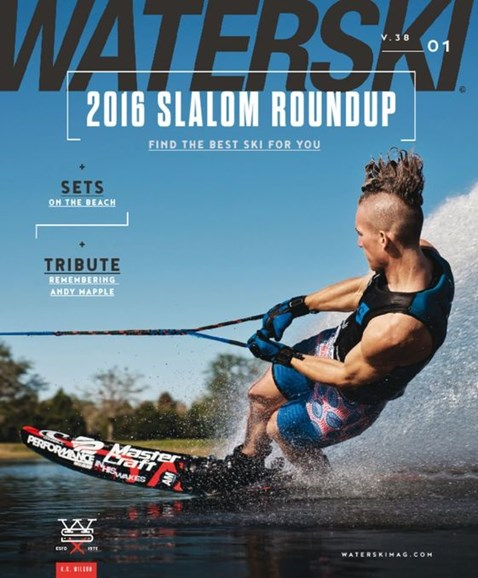 Waterski Cover - 3/1/2016