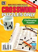 Herald Tribune Crossword Puzzles Magazine 5/1/2016