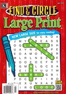 Find and Circle Large Print Magazine 5/1/2016