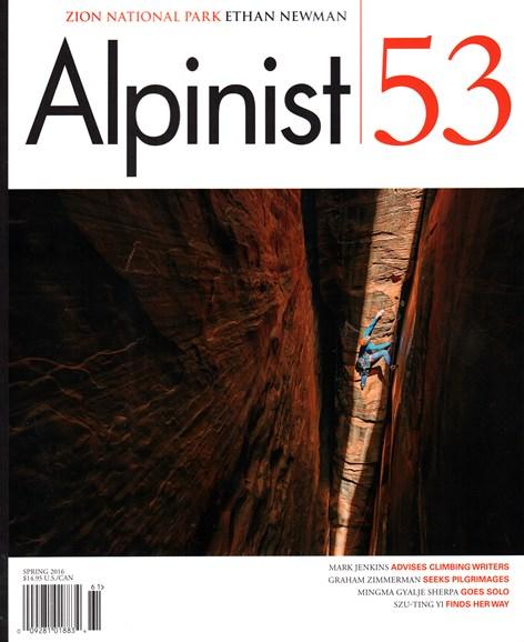 Alpinist Cover - 3/1/2016