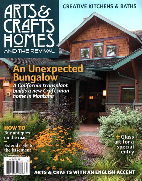 Arts & Crafts Homes Cover - 3/1/2016