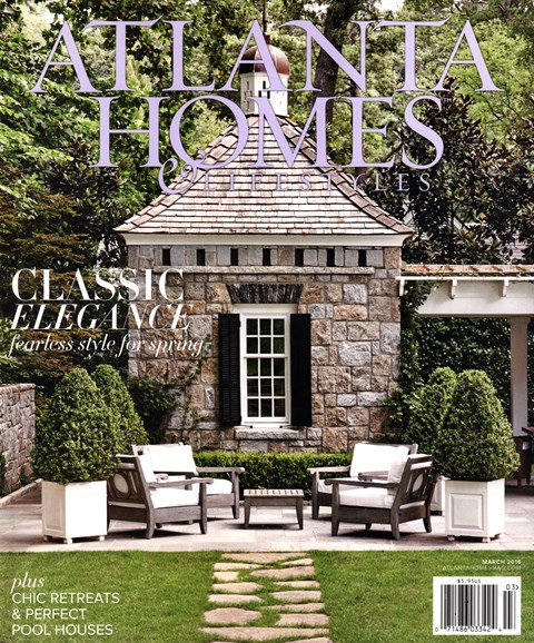 Atlanta Homes & Lifestyles Cover - 3/1/2016