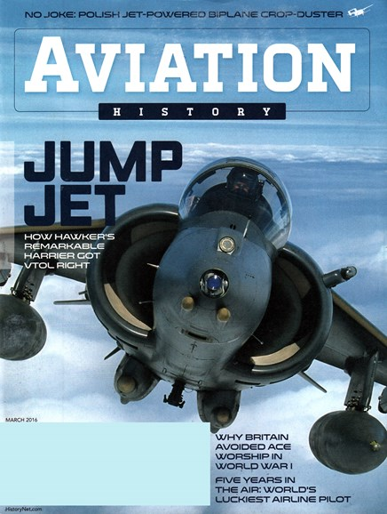 Aviation History Cover - 3/1/2016