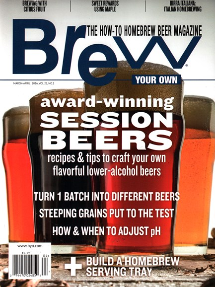 Brew Your Own Cover - 3/1/2016