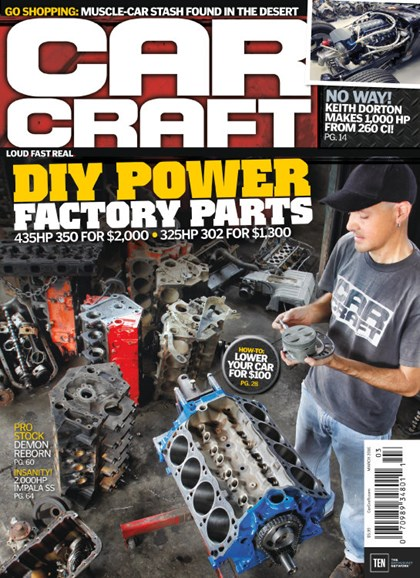 Car Craft Cover - 3/1/2016
