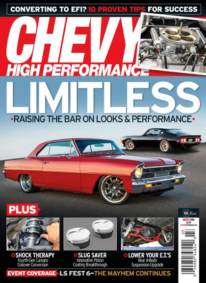 Chevy High Performance Cover - 3/1/2016