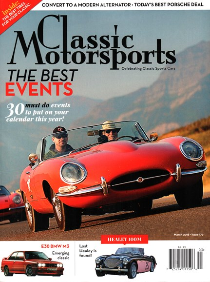 Classic Motorsports Cover - 3/1/2016
