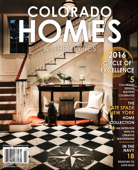 Colorado Homes & Lifestyles Cover - 3/1/2016