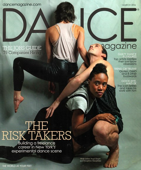 Dance Magazine Cover - 3/1/2016
